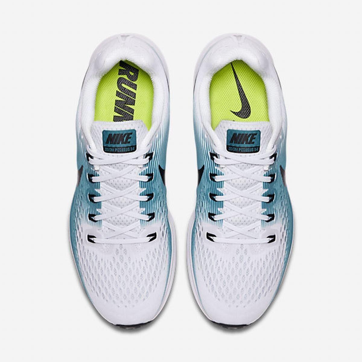 size 40 8ac5a 301f3 New Nike Men s Air Zoom Pegasus 34 Size 7 - white black blue running 880555-