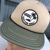 Vans Off The Wall Camo Skateboard Snapback Baseball Cap Hat - $14.82