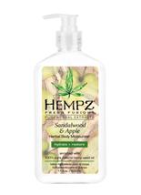 Hempz Sandalwood & Apple Moisturizer, 17OZ