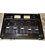 Stero Mixer - Realistic (4 Stero Inputs, Twin VU Meters) - $25.00