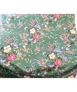 Rare Bailey And Griffin Polished Cotton Floral Fabric Fragrant Garden 7.... - $93.14