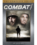 Combat! The Complete Series 1-5 Seasons 1 2 3 4 5 DVD 2013 Box set USED  - $43.50