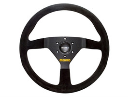 Land Rover Momo MOD.78 Steering Wheel Black / suede 350mm  New - $445.50