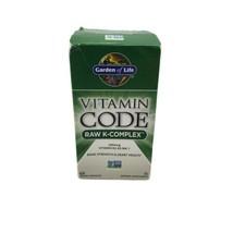 Garden of Life Vitamin Code Raw K-Complex 60 Veggie Caps Dairy-Free Exp. 08/2022 - $29.65