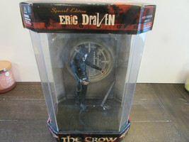 MCFARLANES 1999 THE CROW ERIC DRAVEN SPEC EDITION DISPLAY CASE ACTION FI... - $28.42