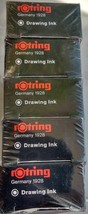 10 pc Rotring drawing ink refill bottle white 23 ml isograph technical pen - $85.19