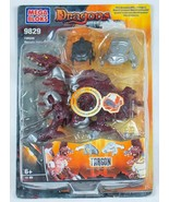 MEGA BLOKS DRAGONS METAL AGES TARGON MERCURY ARMOR DRAGON NIB ELECTRONIC... - $29.69