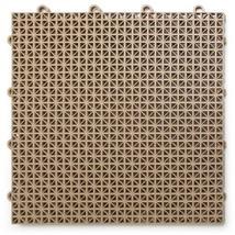 DuraGrid DT24BEIG Outdoor Modular Interlocking Multi-Use Deck Tile (24...  - $136.26