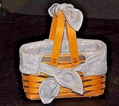 Longaberger Easter Basket AA18-1277 Vintage 1998 U.S.A. - $49.45