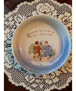 Vintage G. W. Co. Germany Jack and Jill Baby Dish Bowl, 1920s - $19.00