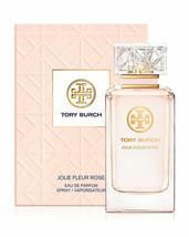 Tory Burch Jolie Fleur Rose Eau De Parfum Spray 3.4 Oz - $64.01