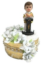 First Communion Praying Boy With Pedestal Cake Topper - $29.99