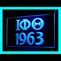 150076B IOTA PHI THETA 1963 a nationally incorporated Display LED Light Sign - $18.00