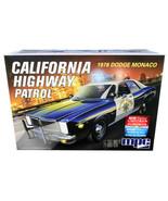 Skill 2 Model Kit 1978 Dodge Monaco CHP (California Highway Patrol) Poli... - $56.42