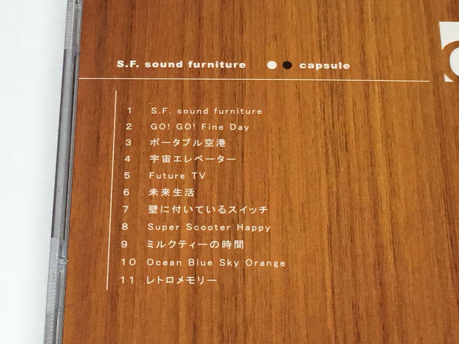 CAPSULE JAPAN VERSION ALBUM CD S.F.SOUND FURNITURE