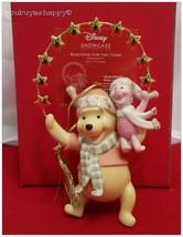 Lenox Disney Christmas Ornament  Reaching for the Stars Winnie Piglet Ne... - $66.33
