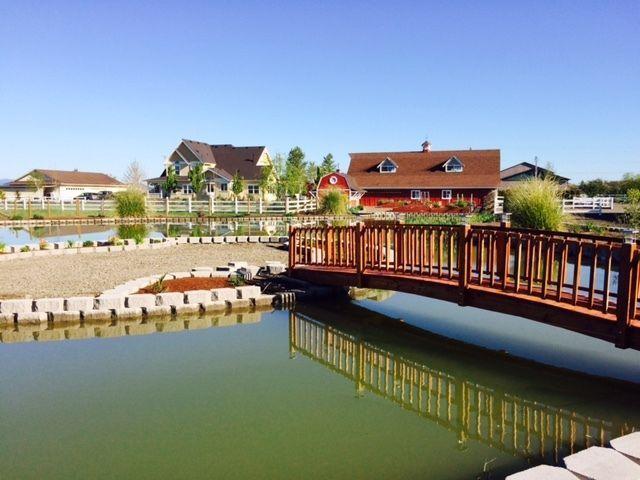 Garden Bridge  12 ft long Red Cedar landscape Bridge!