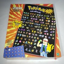 Vtg Pokemon 200 Piece Jigsaw Puzzle Gotta Catch 'em All - Poster Sized C... - $18.95