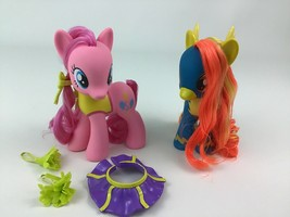 My Little Pony Wonderbolts Pinkie Pie and Spitfire Lot Doll Figures Hasb... - $19.55