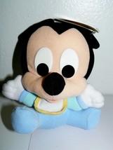 Disney My First Baby MICKEY Rattle Soft Plush Bean Bag - $31.43