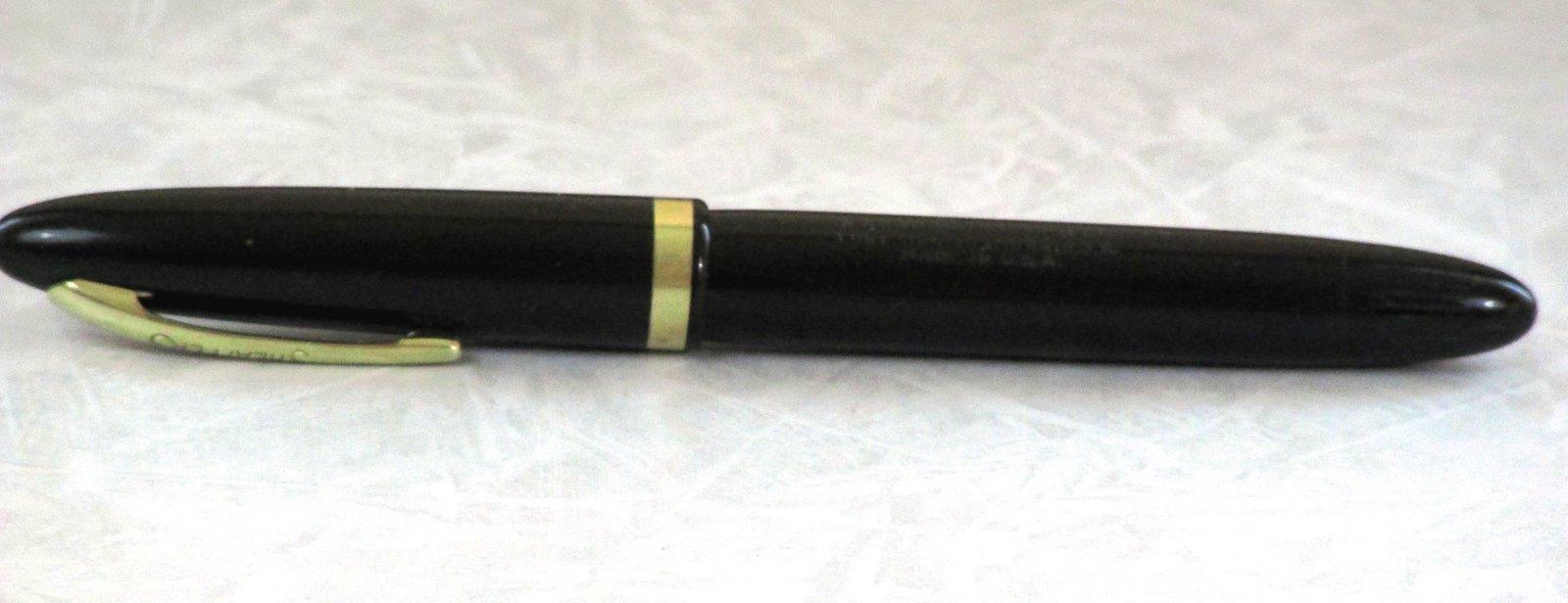 Sheaffer Fountain Pen Touchdown Admiral 14k Nib # 5 Feather Touch White Dot Vac