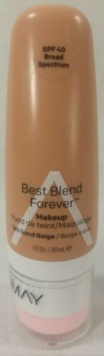Primary image for Almay Best Blend Forever Makeup SPF 40 Broad Spectrum 10 Sand Beige