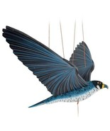 Peregrine Falcon Duck Hawk Bird Flying Mobile Wood Colombia Fair Trade New - $49.45