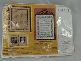 The Creative Circle Serenity Prayer 1614 Kit Sealed - $9.95