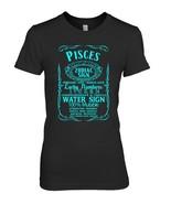ZODIAC SIGN PISCES Horoscope Astrology T Shirt - $19.99