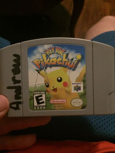 Primary image for Hey You, Pikachu (Nintendo 64, 2000) Tested / Authentic -N64-