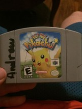 Hey You, Pikachu (Nintendo 64, 2000) Tested / Authentic -N64- - $8.79