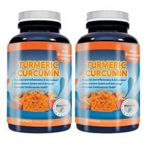 Turmeric Curcumin 750 mg with 95-percent Curcuminoids Extract plus Biope... - $21.77
