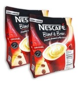 2 Packs NESCAFE 3 in 1 + 2 Packs NESCAFE White Coffee Original With Milk... - $70.90
