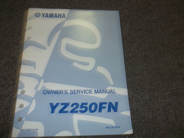 1999 2000 2001 Yamaha YZ250FN YZ 250 FN Service Shop Repair Manual OEM x - $79.18