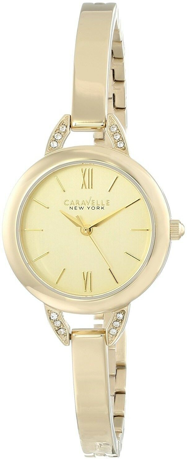 Primary image for Caravelle New York Women's 44L129 Crystal-Accented Stainless Steel Watch