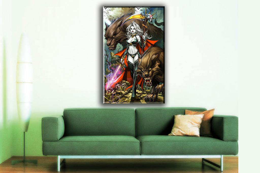 Goddess series Art oil painting printed on canvas home decor  OBLIVION