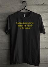 Creative Writing Major Men's T-Shirt - Custom (193) - $19.12+