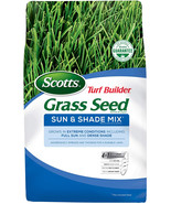 Scotts Turf Builder Grass Seed Sun and Shade Mix - 3 lbs, Grows in Full ... - $16.99+