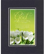 GoodOldSaying  Poem for Inspirations - And God Shall Wipe Away All Tears... - $11.14