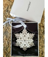 Pandora Snowflake Ornament Winter Holiday Limited Edition in Gift Box 2015 - $23.99