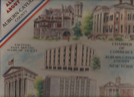 All About Auburn Cayuga County New York Board Game Limited Edition 1980 - $21.05