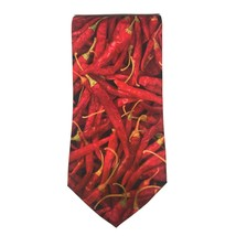 "Ralph Marlin Men's Neck Tie Polyester 57"" L 3 3/4"" W BOGO 50% OFF Chili ... - $24.36"