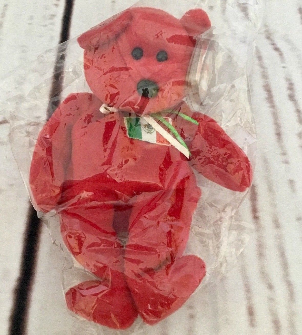 6549c926803 Osito TY Beanie Baby Red Mexican Teddy Bear and 50 similar items