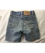 "Vintage Levi's Orange Tab Boy Shorts Very Worn 21"" Waist Retro - $18.69"