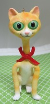 2003 Twisted Whiskers Cat Christmas Ornament MIB American Greetings Twitty T19 - $14.85