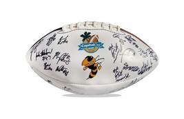 2008 Georgia Tech Yellow Jackets team signed football W/Cert autographed 2 - $203.94