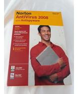 Norton Antivirus 2008 1 User - $10.68