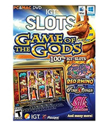 IGT Slots: Game of the Gods PC Computer Game, Mac and Windows - $18.95