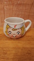 VINTAGE COLLECTIBLE  Campbells Ceramic  Soup Mug 1998   HEAVY - $6.92