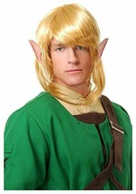 Charades Elfo Guerriero Collegamento Legend Of Zelda Parrucca Accessorio... - £13.83 GBP
